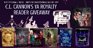 Win hardbacks of King of Scars by Leigh Bardugo, Ash Princess by Laura Sebastian, A River of Royal Blood by Amanda Joy, All the Stars and Teeth by Adalyn Grace, and The Princess Bride by William Goldman, plus a Jude and Cardan tote bag...+ more...