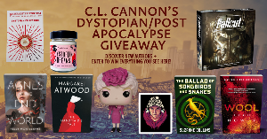 Win hardcover copies of Agnes at the End of the World by Kelly McWilliams, The Ballad Of Songbirds And Snakes by Suzanne Collins, The Handmaid's Tale by Margaret Atwood, Wool by Hugh Howey, plus a Fallout board game, ...+more..