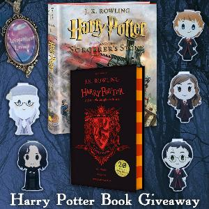 Win Harry Potter Books & Bookmarks