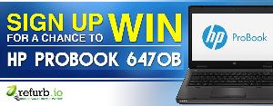 "WIN: HP Probook 6470B. 14"" Laptop"