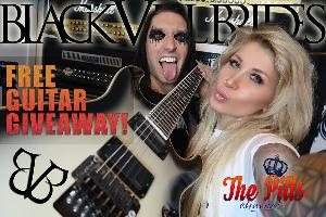 Win Jake Pitts Personal Signature Schecter Guitar