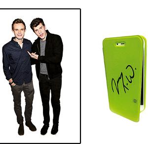 Win James TW's signed iPhone 6 case!!!