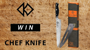 WIN: Kaizef Japanese Chef Knife
