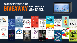 Win Kindle Fire HD and 40+ Books