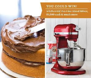WIN: KitchenAid Pro Line Stand Mixer, $3500 Cash & More