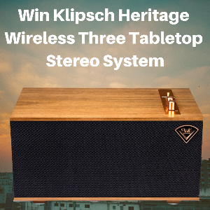 Win Klipsch Heritage Wireless Three Tabletop Stereo System