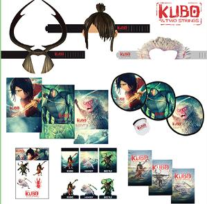 Win Kubo and the Two Strings Movie Prize Package!!!