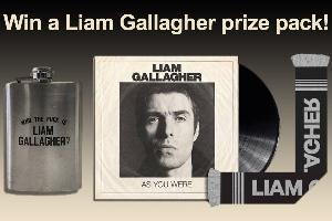Win Liam Gallagher prize pack
