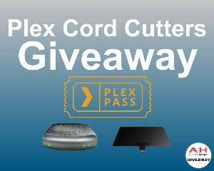 Win Lifetime Plex Pass, HDHomeRun Connect, Mohu Leaf 50