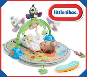 Win Little Tikes Baby 3-in-1 Deluxe Soothe and Play Gym!