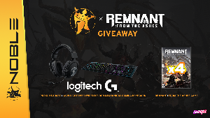 Win Logitech G Peripherals Bundle and Remnant: From the Ashes