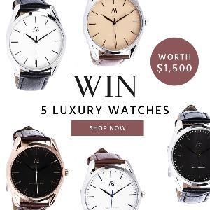 WIN LUXURY WATCHES $1,500