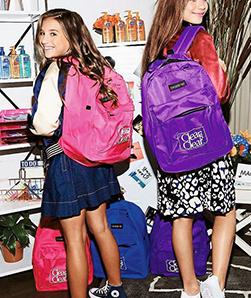 Win Mackenzie and Maddie's Signed Backpack!!!