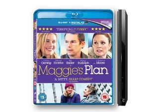 Win Maggie's Plan on Blu-ray and a Blu-ray player!
