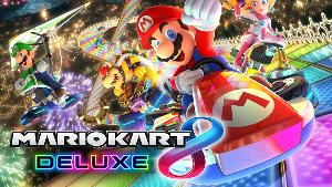 Win Mario Kart 8 Deluxe for Nintendo Switch