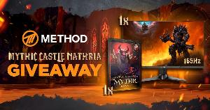 Win : Mythic Castle Nathria Boost (EU Horde Only) & an MSI 165Hz Curved Gaming Monitor!!