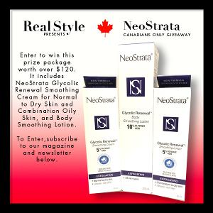 Win NeoStrata skin care products.