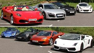 Win! On-road supercar day worth £750 !!