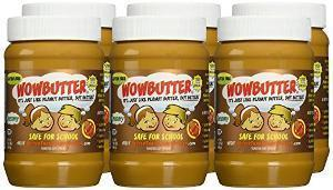 Win One Case (6 x 1.1lb Jars) of Creamy WOWBUTTER