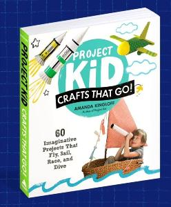 Win one copy of Project Kid: Crafts That Go!!!