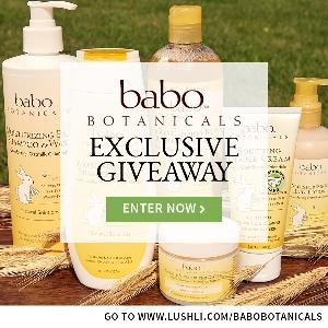 WIN: one of 25 Babo Botanicals $50 E-gift Cards