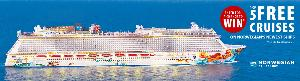 Win one of five Cruises on Norwegian Cruise Line's Newest Ships to the Caribbean