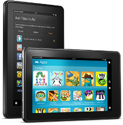Win one of three Fire HD tablets or four $75 gift certificates!