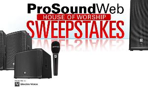 WIN: One of Three Prize Packages from Electro-Voice!