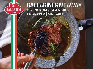Win one of TWO Cortina Fry Pans