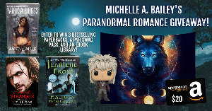 win one paperback copy of Halfway to the Grave by Jeaniene Frost, one paperback copy of Dark Stranger the Dream by I.T. Lucas, one paperback copy of Moon Called by Patricia Briggs, one Magic Universe Wolf Tapestry, a Labyrinth Jareth Funko Pop,& more