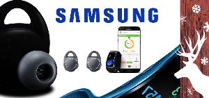WIN: Samsung Gear Fit2 + Samsung Gear IconX