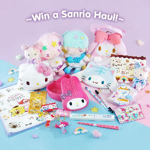 Win Sanrio products valued over $100!