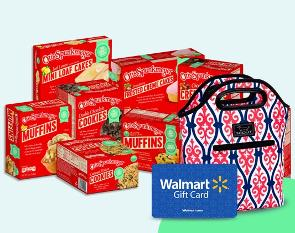 Win School Snacks, a Lunchbox & a $100 Walmart Gift Card from Otis Spunkmeyer !