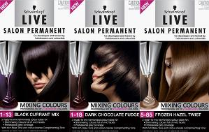 Win Schwarzkopf Live Salon Mixing Colours