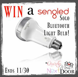WIN: Sengled Solo Bluetooth Light Bulb