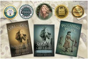 Win Signed copies of each book in the Annie Oakley Mysteries, SWAG (mousepad, pen, tote, bookmark), plus $50 Amazon Gift Card!!