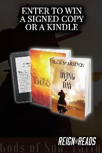 WIN: Signed Copies or a Kindle Paperwhite from Author Nick Marsden