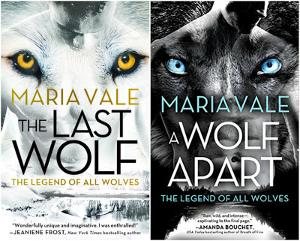 Win Signed paperback copies of The Last Wolf & A Wolf Apart by Maria Vale
