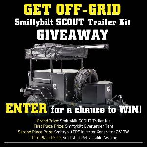 WIN: Smittybilt SCOUT Trailer Kit