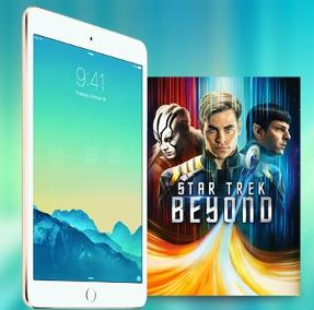"Win ""Star Trek Beyond"" on Digital HD + an iPad Mini 2!"