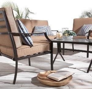 Win Strathwood Brentwood 4-Piece Outdoor Furniture Set or Amazon GC