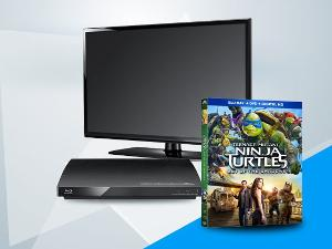 "Win ""Teenage Mutant Ninja Turtles: Out of the Shadows"" on Blu-ray Combo Pack, plus a Flatscreen TV & Blu-ray Player!"