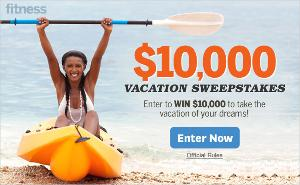 Win the $10,000 Vacation Sweepstakes