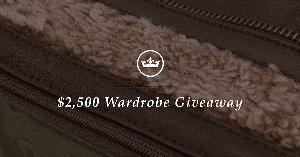 Win the $2500 Wardrobe Giveaway