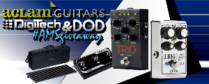 WIN THE ACLAM, DIGITECH & DOD GIVEAWAY!