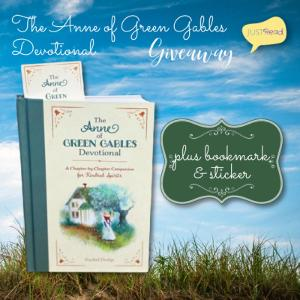 Win The Anne of Green Gables Devotional with a pretty bookmark and a sticker!