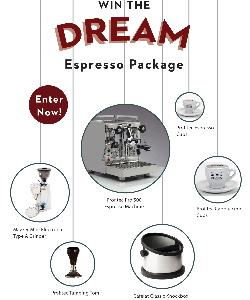 Win the Dream Espresso Package