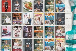 Win The Entire Collection Of Gordon Ramsay Cookbooks $750