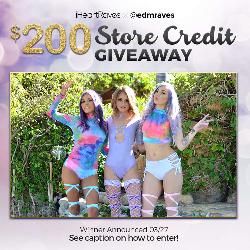 WIN THE IHEARTRAVES $200 STORE CREDIT GIVEAWAY