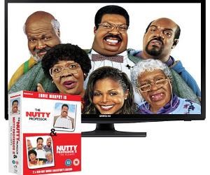 Win The Nutty Professor box set & Samsung TV